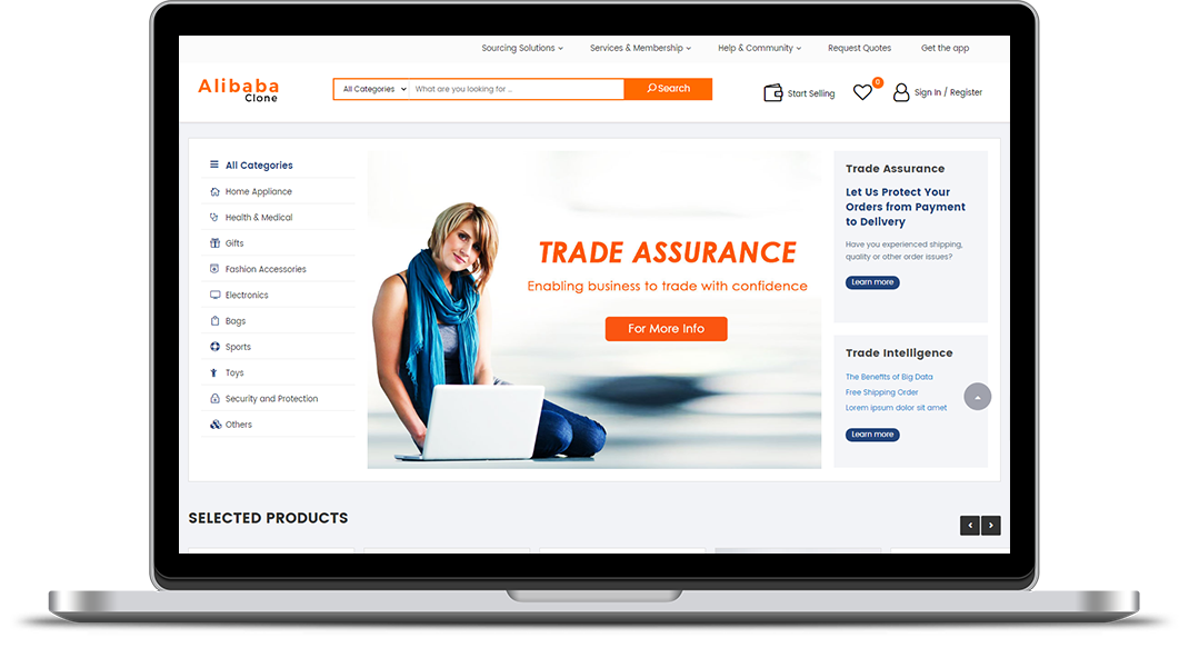 Unique E-commerce Business Tips By B2b Alibaba Clone Script – HOT